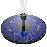 AISITIN Solar Springbrunnen 3.5W Solar Teichpumpe mit 180mm Durchmesser Solar...
